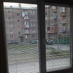 800р.-1м² белые горизонтальные жалюзи на двухстворчатое окно 1600р.