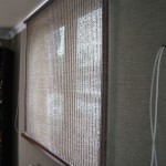 рулонная штора на стену