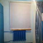 рулонная штора на стену 1,5 м на 1,5м 4000 р.