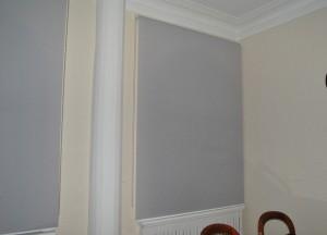 рулонная штора не стену