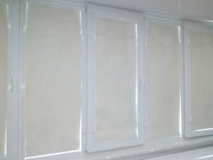 рулонные шторы в алюминиевых коробах