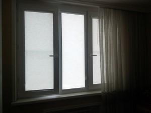 рулонные шторы на створки
